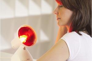 Инфра червени лампи и масажори