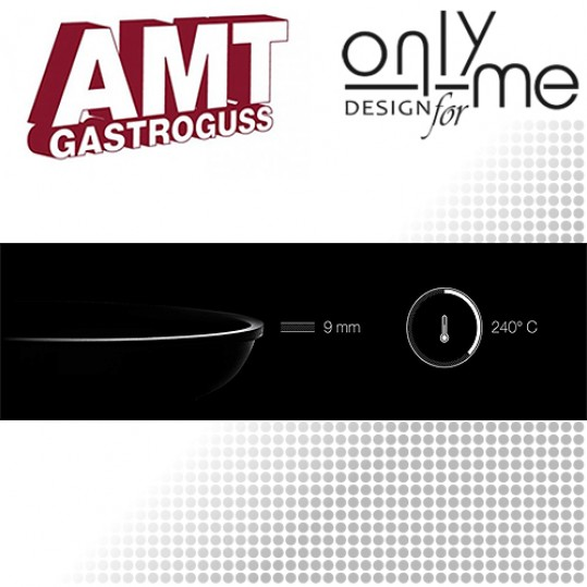 Дълбока тенджера AMT - Ø24 cm