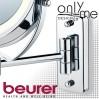 Козметично огледало с LED подсветка и стойка за стена BEURER BS 59