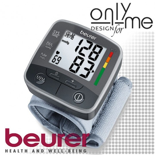 Апарат за кръвно налягане BEURER BC 32 за китка - Цена 58..