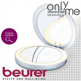 BEURER BS 39 Козметично огледало 3x и powerbank 3000 mAh