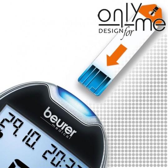 Глюкомер за измерване на кръвна захар BEURER GL 44 mmol/L 46316