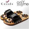 Масажни чехли за рефлексотерапия с естествени камъни CASADA - №39-41