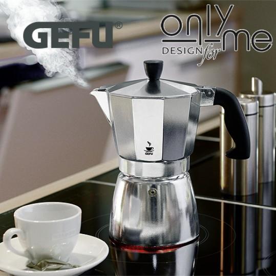 Алуминиева кафеварка за 6 кафета LUCINO GEFU - 330 ml