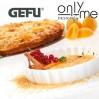 Комплект газова горелка с 4 броя порцеланови купи GEFU