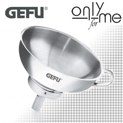 GEFU 15570 Метална фуния VERSARE, 14 cm