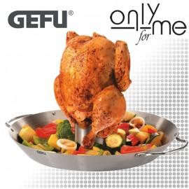 GEFU 89156 Wok тиган и сет за пиле BBQ