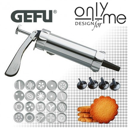 GEFU 14320 Метален сладкарски шприц COOKIE
