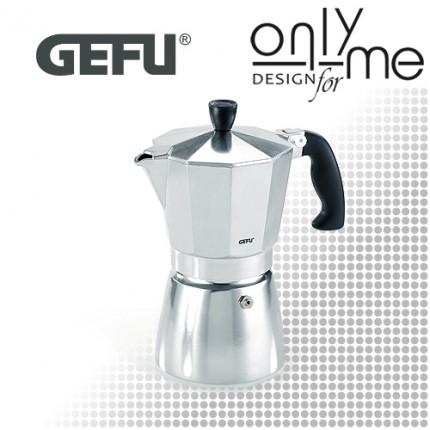 Алуминиева кафеварка за 3 кафета LUCINO GEFU - 170 ml