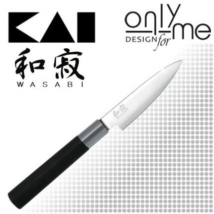 KAI WASABI BLACK Utility knife 6710P - Кухненски нож 10см