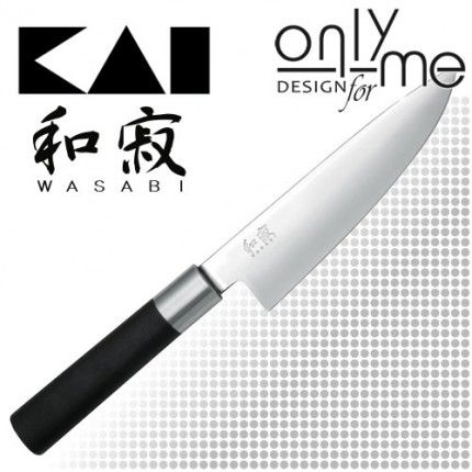 KAI WASABI BLACK Chef's knife 6715C - Нож на шефа 15cm