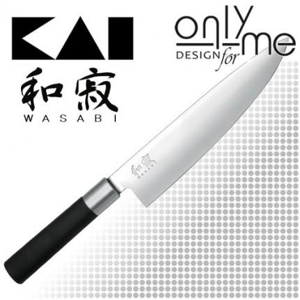 KAI WASABI BLACK Chef's knife 6720C - Нож на шефа 20cm