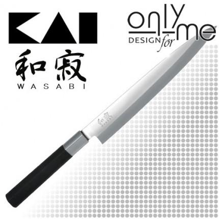 KAI WASABI BLACK Yanagiba 6721Y - Нож янагиба 21cm