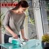 Комплект вакуумна стъклочистачка с микрофибърна кърпа LEIFHEIT