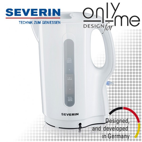 Електрическа кана за вода SEVERIN - бяла
