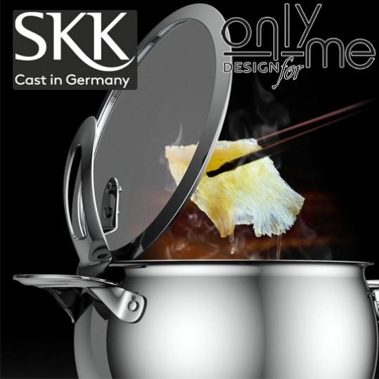 Дълбок тиган SKK Inox Serie 1 - Ø 24см 3,2л