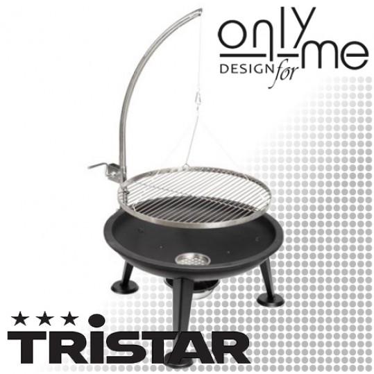 Барбекю на дървени въглища Tristar - Ø55 cm