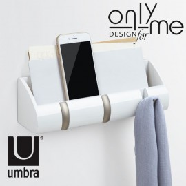 Закачалка за стена UMBRA CUBBY MINI - бяла