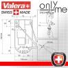 Стенен сешоар за коса Valera Action Super Plus 1600 Shaver Silver
