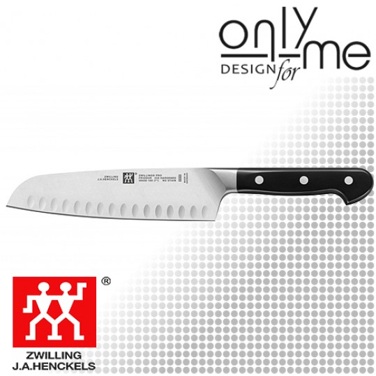 Универсален кухненски нож SANTOKU ZWILLING PRO - 18сm