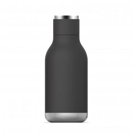 """ASOBU Двустенна термо бутилка с вакуумна изолация """"URBAN"""" - 460 мл - цвят черен"""