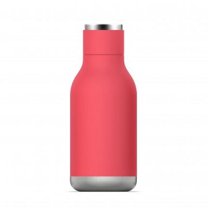 """ASOBU Двустенна термо бутилка с вакуумна изолация """"URBAN"""" - 460 мл - цвят праскова"""