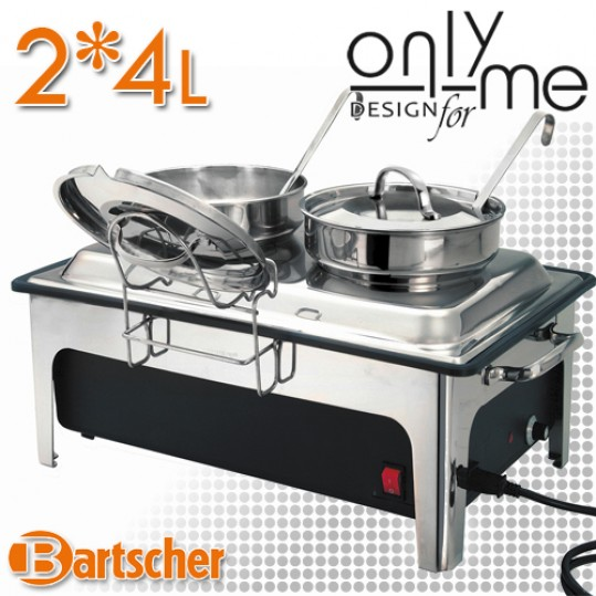 Диспенсър за супа 2*4л Bartscher 500840