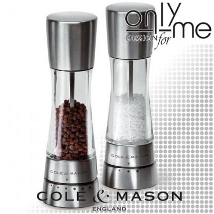 Комплект мелници Cole & Mason Gourmet Precision Derwent Inox 190mm