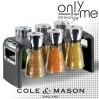 Комплект за подправки Cole & Mason SHAW 6