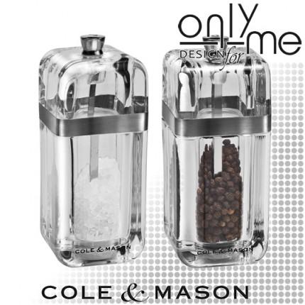 Комплект мелнички за сол и пипер Cole & Mason KEMPTON 130mm
