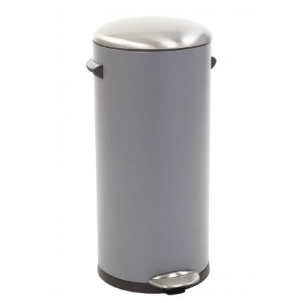 "EKO Кош за отпадъци с педал  ""BELLE DELUXE""- 30 литра - сив"