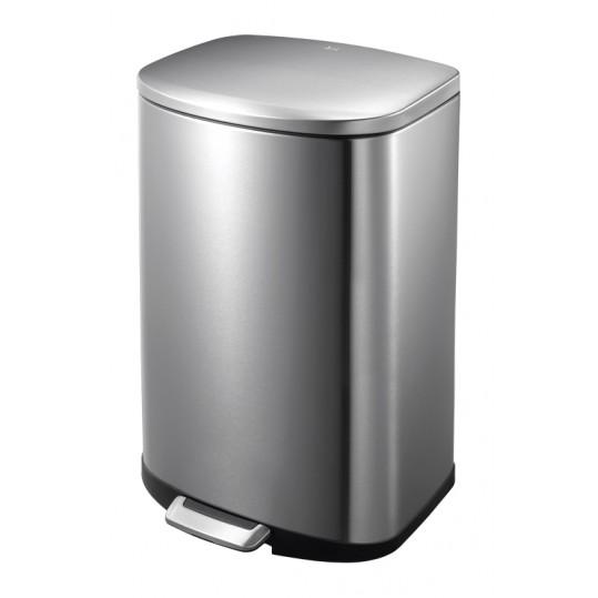 """EKO Кош за отпадъци с педал """"DELLA"""" - 50 литра - мат"""