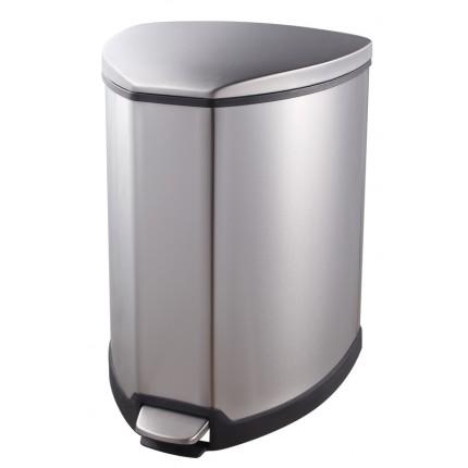 """EKO Кош за отпадъци с педал """"GRACE"""" - 25 литра - мат"""