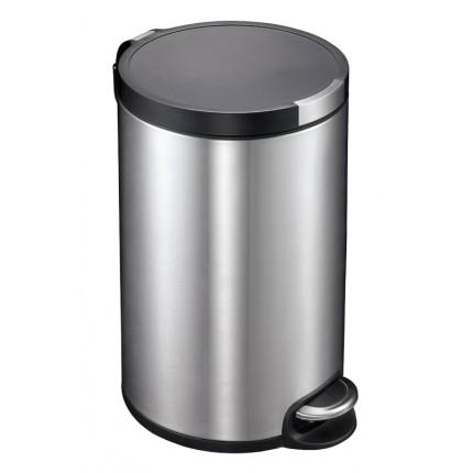 """EKO Кош за отпадъци с педал """"ARTISTIC"""" - 12 литра - мат"""