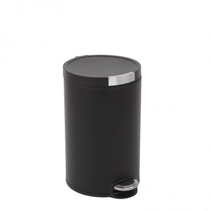 """EKO Кош за отпадъци с педал """"ARTISTIC"""" - 12 литра - черен"""