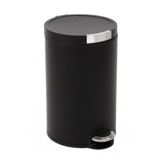"""EKO Кош за отпадъци с педал """"ARTISTIC"""" - 20 литра - черен"""