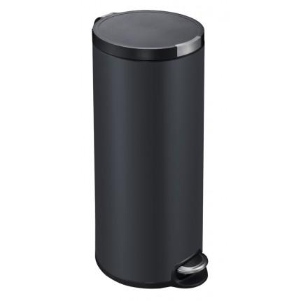 """EKO Кош за отпадъци с педал """"ARTISTIC"""" - 30 литра - черен"""