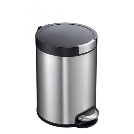 """EKO Кош за отпадъци с педал """"ARTISTIC"""" - 5 литра - мат"""