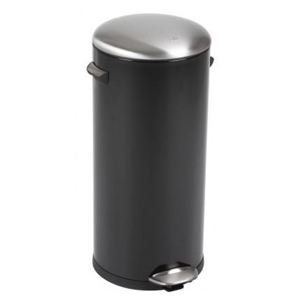 "EKO Кош за отпадъци с педал  ""BELLE DELUXE""- 30 литра - черен"