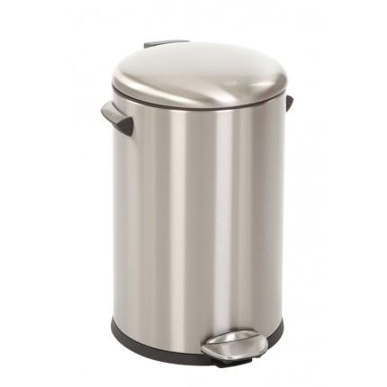 "EKO Кош за отпадъци с педал  ""BELLE DELUXE""- 12 литра - мат"