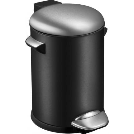 "EKO Кош за отпадъци с педал  ""BELLE DELUXE""- 3 литра - черен"