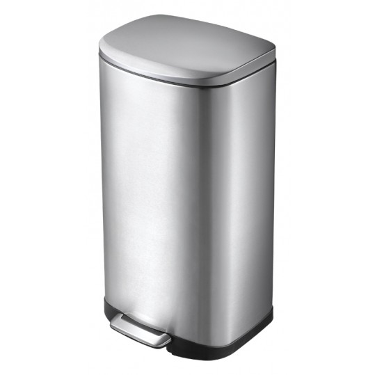 """EKO Кош за отпадъци с педал """"DELLA"""" - 35 литра - мат"""