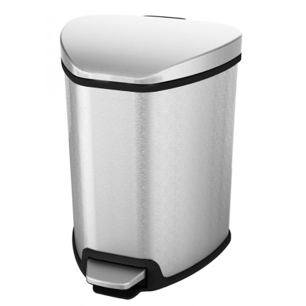 """EKO Кош за отпадъци с педал """"GRACE"""" - 5 литра - мат"""