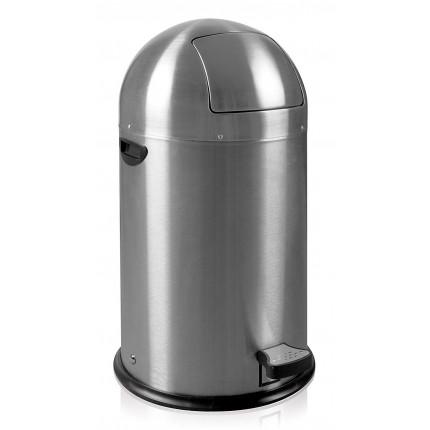"""EKO Кош за отпадъци с педал """"KICK CAN"""" - 33 литра - мат"""