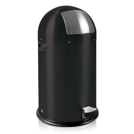 """EKO Кош за отпадъци с педал """"KICK CAN"""" - 33 литра - черен"""