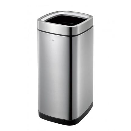 """EKO Квадратен отворен кош за отпадъци """"LAGUNA"""" - 35 литра - мат"""
