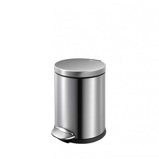 """EKO Кош за отпадъци с педал """"LUNA"""" - 5 литра - мат"""