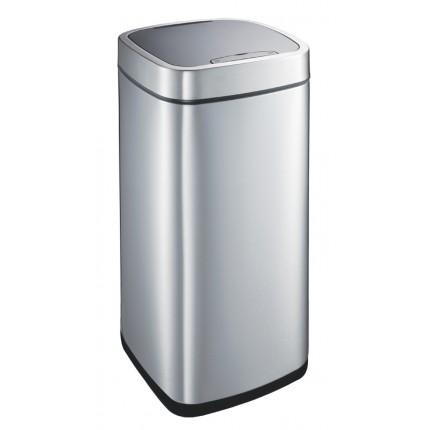 """EKO Квадратен сензорен кош за отпадъци """"PERFECT"""" -  35 литра - мат"""