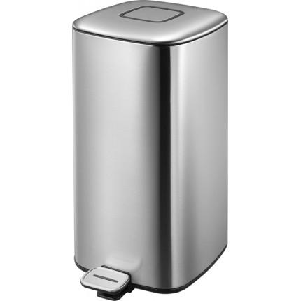 """EKO Кош за отпадъци с педал """"REGENT"""" - 32 литра - мат"""