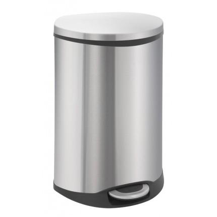 """EKO Кош за отпадъци с педал """"SHELL"""" - 50 литра - мат"""